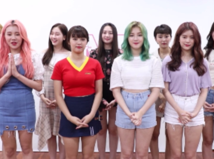 모모랜드 MOMOLAND's Congratulation for OSEN V
