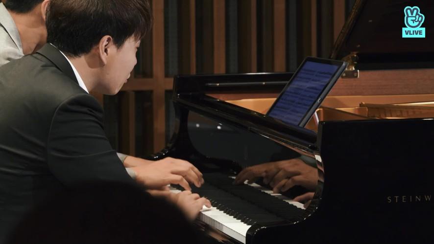[연주클립] V살롱 - 김정원X한지호 [모차르트: 네 손을 위한 소나타  K.521 1악장]