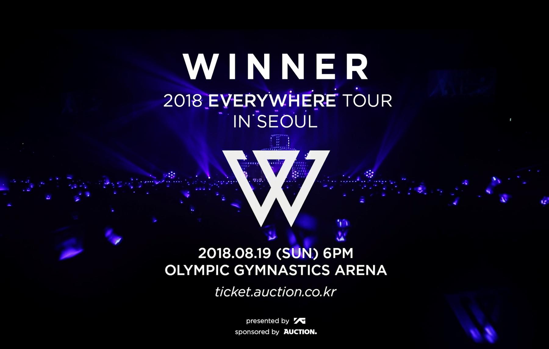 WINNER - 'EVERYWHERE TOUR' TEASER