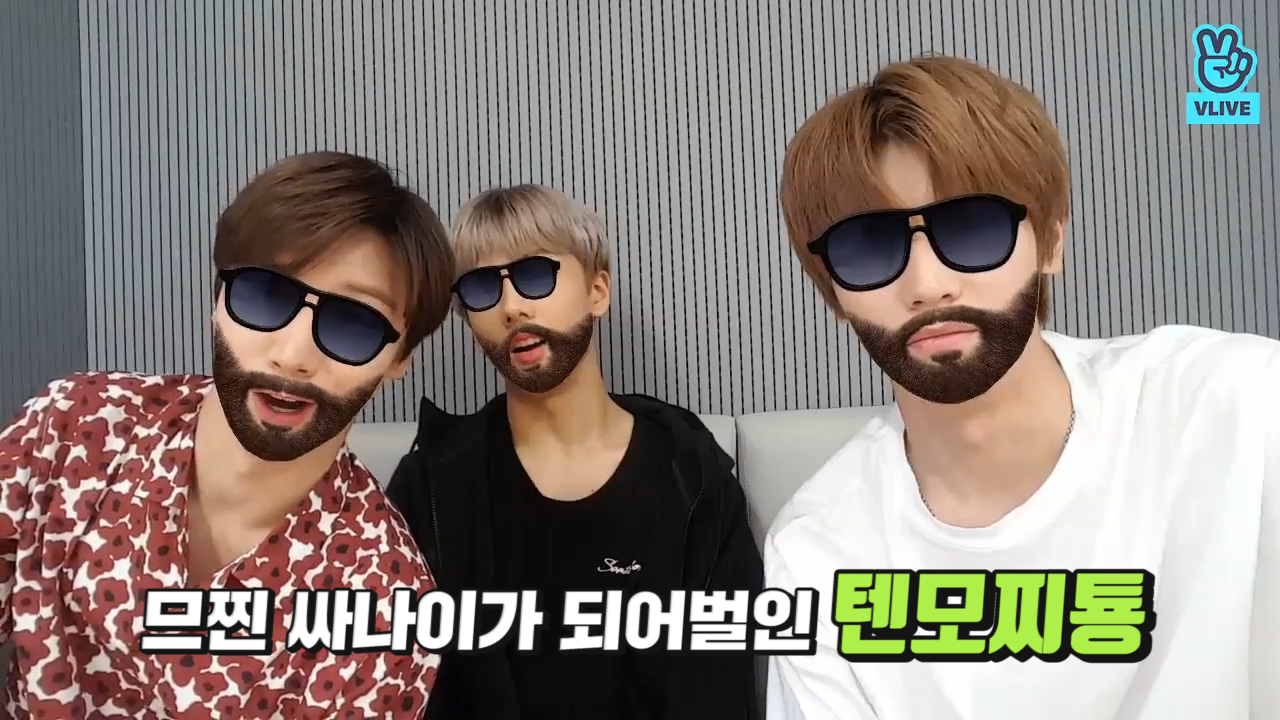 [NCT] 스웩 넘치다못해 흘러버리는데 귀엽기까지 한 텐모찌툥😎(TEN&JISUNG&TAEYONG playing with sticker)