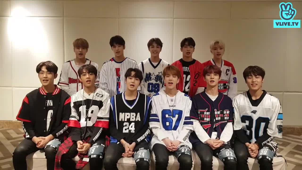 The boyz greeting clip V Heart beat