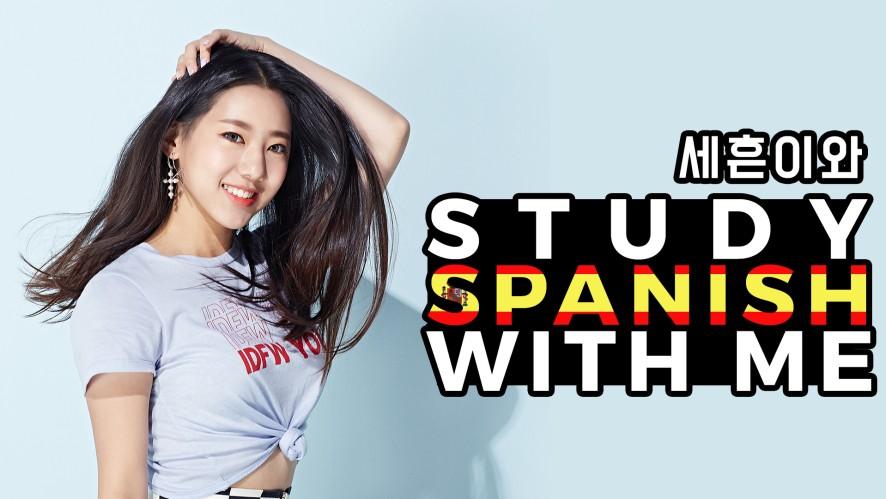 걸카인드 세흔이와 Study Spanish With Me