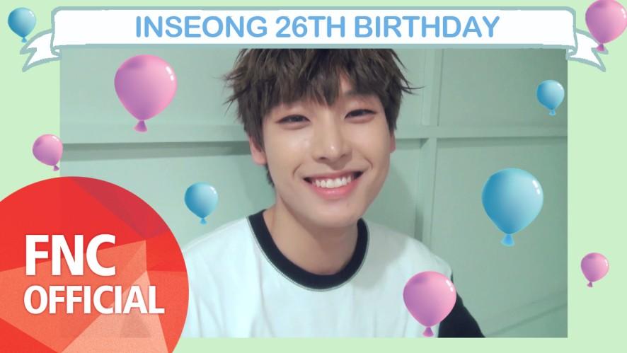 [HBD] INSEONG 26TH BIRTHDAY