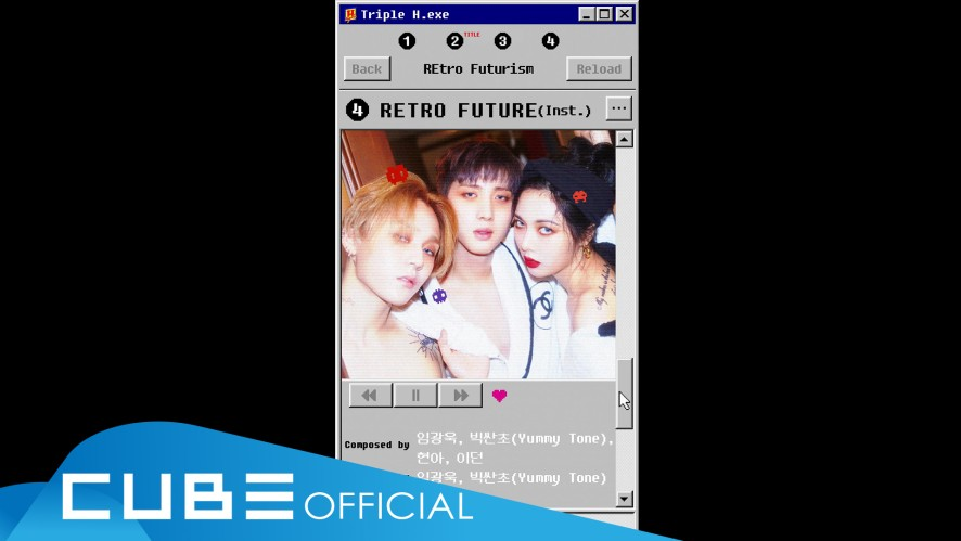 "트리플 H - 2nd mini album ""REtro Futurism"" Audio Snippet"