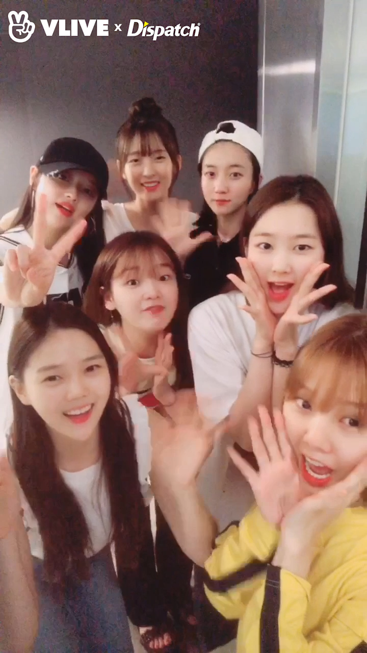 Welcome Opening for 'V Dispatch' 오마이걸(OH MY GIRL)