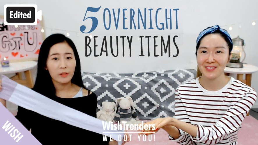5 Overnight Beauty Items You Should Be Using Before Bed!   All About Sleeping Mask   WWGY