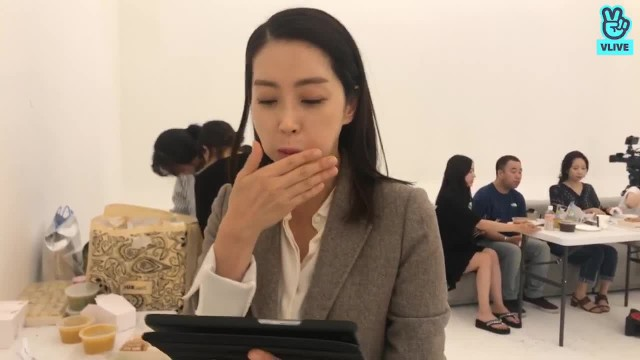[송윤아] 두근두근 촬영현장 두번째😍😍😍