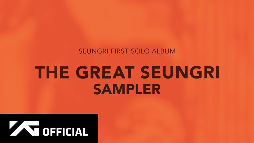 SEUNGRI - 'THE GREAT SEUNGRI' SAMPLER
