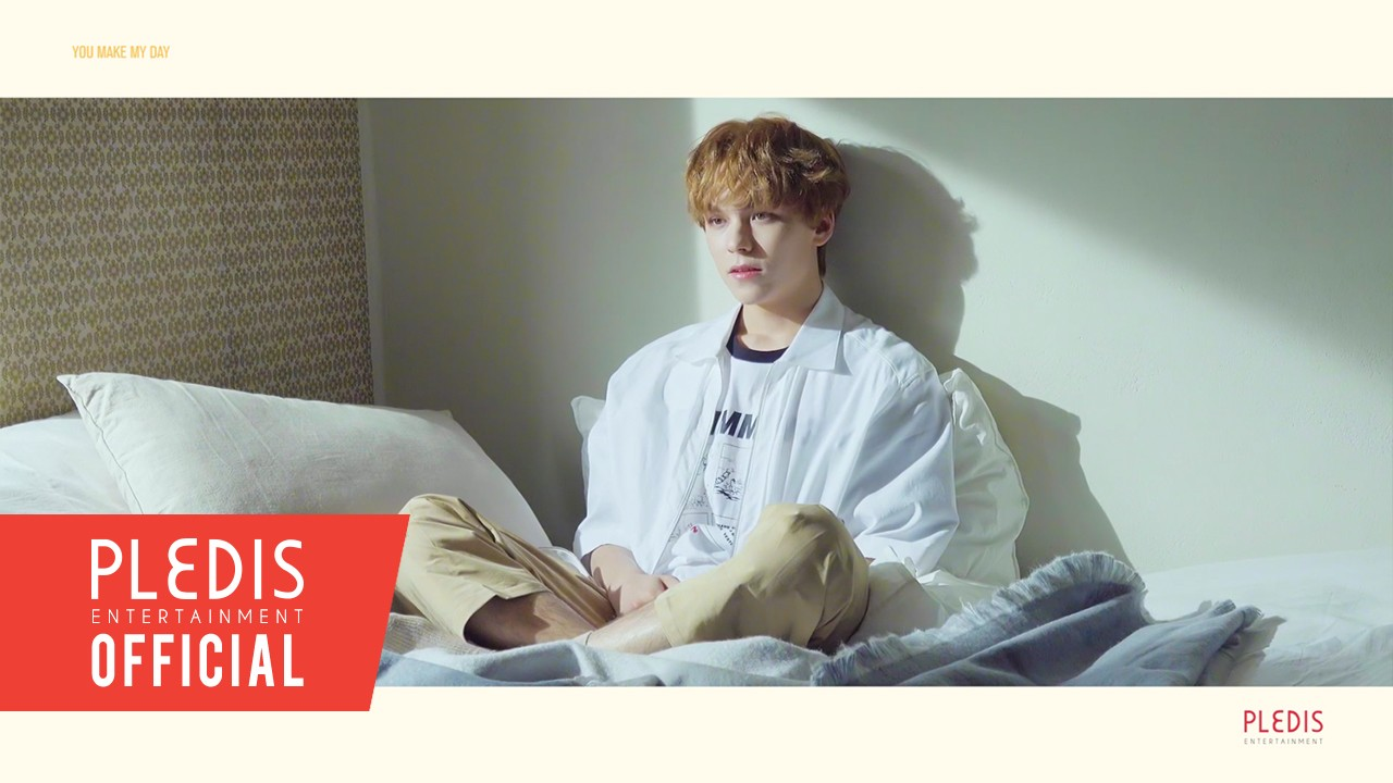 SEVENTEEN(세븐틴) - 5TH MINI ALBUM 'YOU MAKE MY DAY' JACKET BEHIND MEET VER.