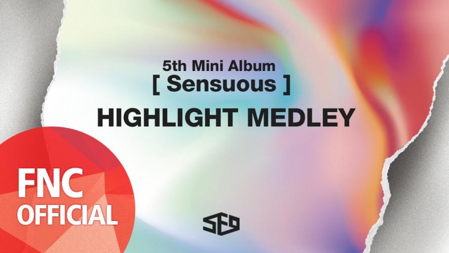 SF9 - 5th Mini Album [Sensuous] Highlight Medley