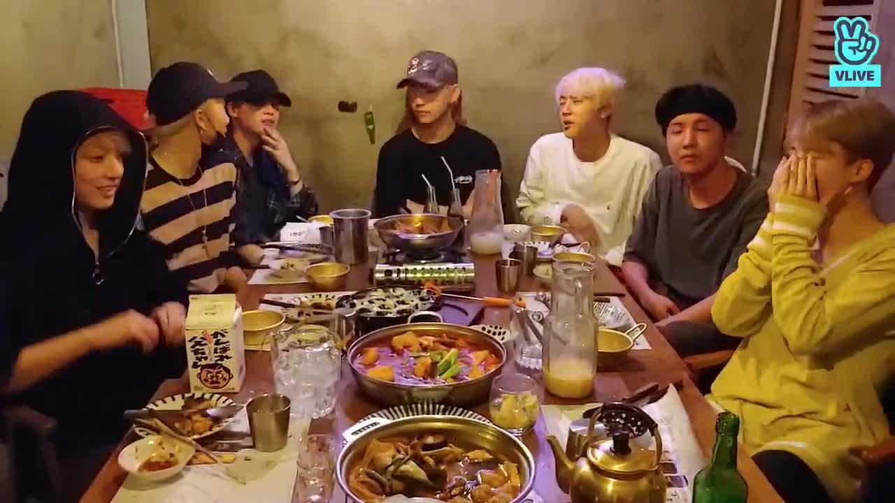 BTS 먹걸리 공약 Live