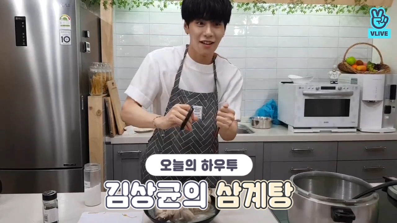 [V PICK! HOW TO in V] 김상균의 삼계탕🍗 (HOW TO COOK KIM SANG GYUN's Samgyetang)