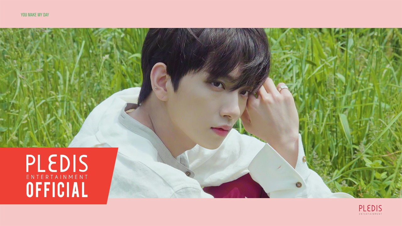 SEVENTEEN(세븐틴) - 5TH MINI ALBUM 'YOU MAKE MY DAY' JACKET BEHIND FOLLOW VER.