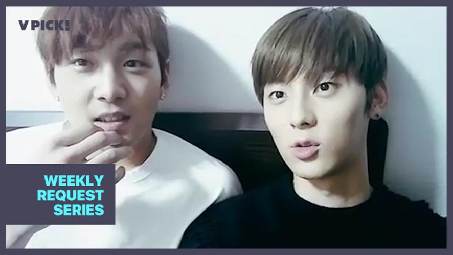 [NU'EST] 배코폭스 사랑해서 시간이 멈췄어...🕐 (Baekho&Minhyun singing songs)