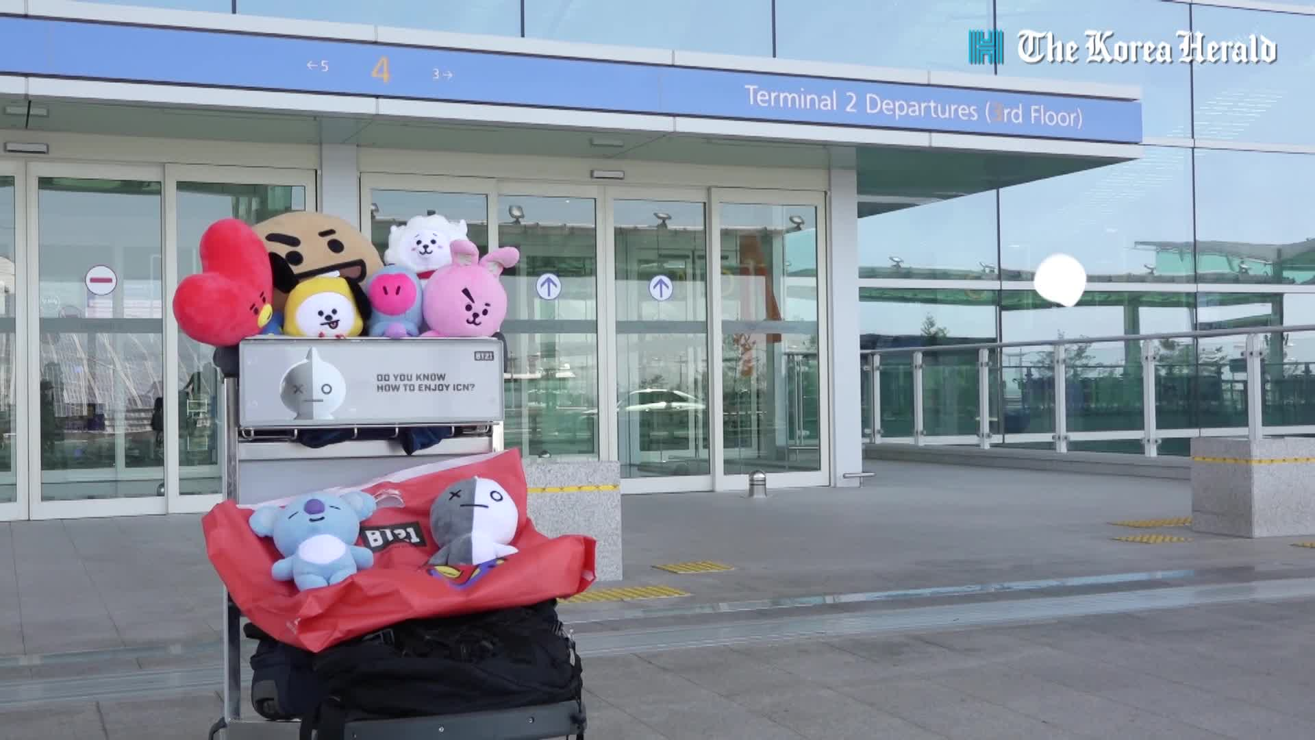 [Teaser] BT21 hits Incheon Airport
