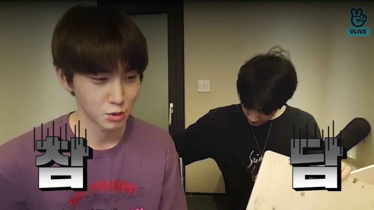 [PENTAGON] 고시넌씨의 충격의 충격의 충격고백❗️ (Shinwon&Wooseok drawing each other)