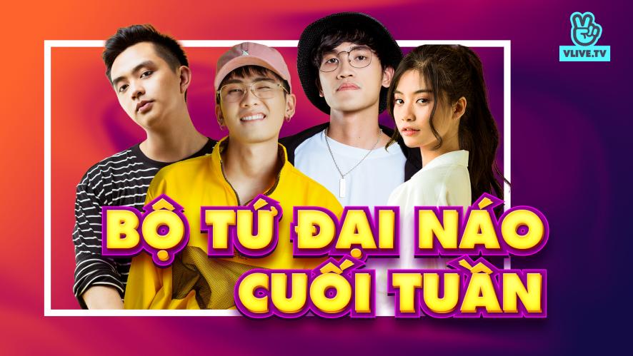 NAM PHƯƠNG - LONG.C - DANNY - MINMIN   Bộ tứ đại náo cuối tuần ep.7