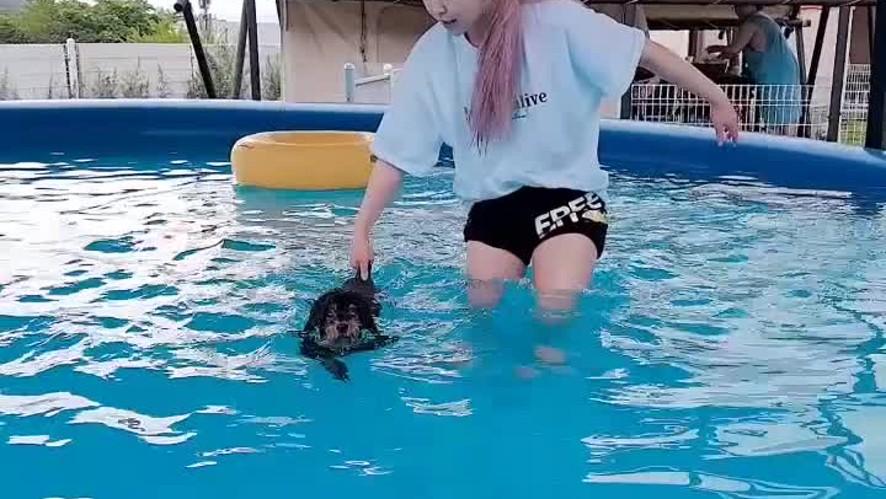 [KHAN] 네모칸 14칸. 원두와 함께 수영을 해요