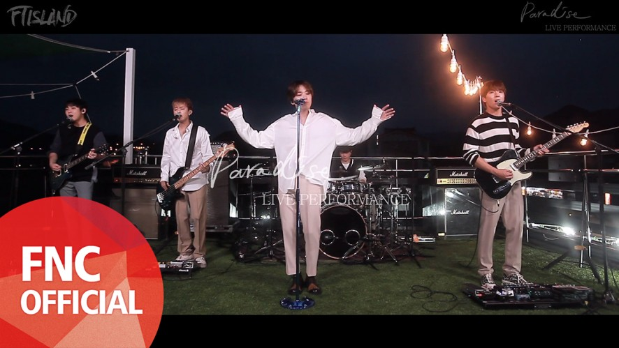 FTISLAND – Paradise (Korean ver.) Live Band Performance