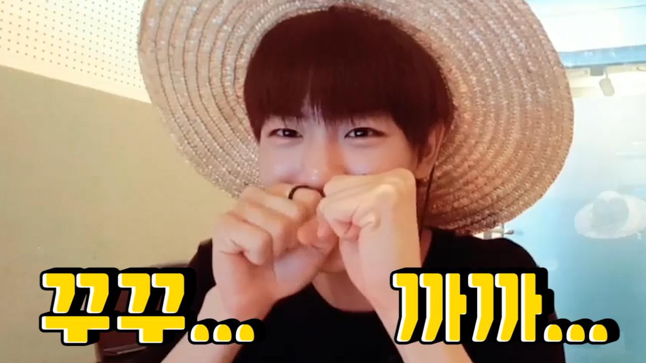 [Golden Child] 김지범 귀여워서 나도 울고 지븜이도 울었다…😭 (So cute Kim Ji-Beom)