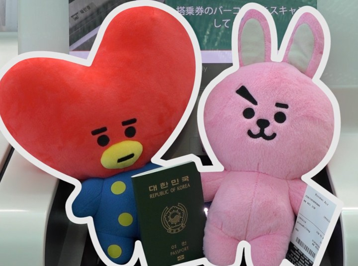 [Part 2] BT21 checks out must-visit spots at Incheon Airport