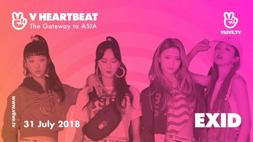 V HEARTBEAT LIVE JULY with EXID - Lady, DDD & Up and Down