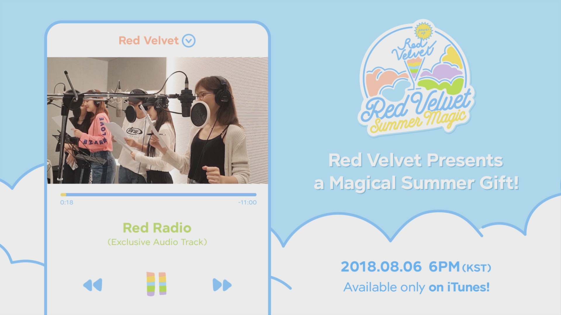 Red Velvet 레드벨벳 'A Magical Summer Gift' Snippet