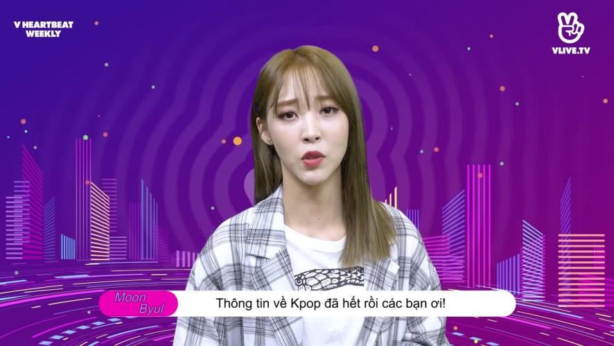 [V HEARTBEAT WEEKLY] Ep.04- K POP CHART & NEWS