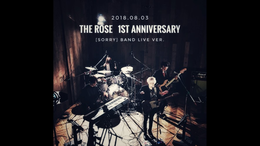 THE ROSE [SORRY] BAND LIVE VER