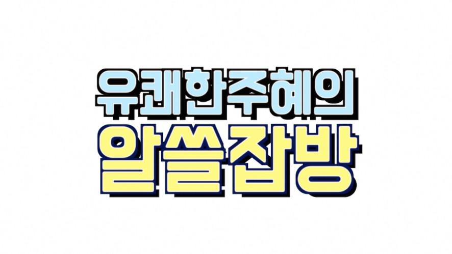 유쾌한주혜의 알쓸잡방 <편의점 도시락🍱 먹방>