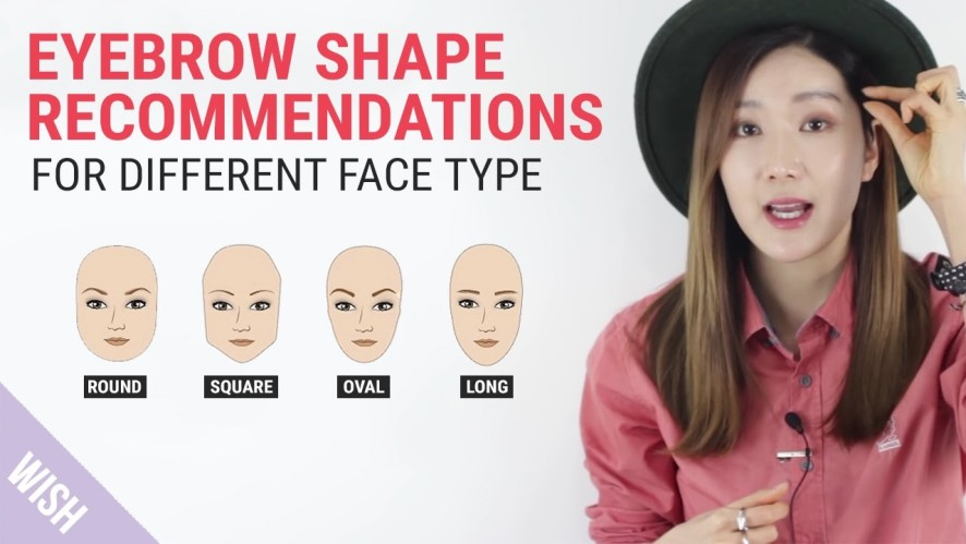 Perfect Eyebrow Shapes for Your Face | WishtrendTV