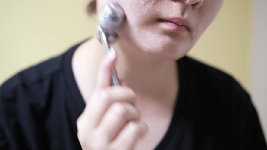 [1분팁] 얼굴 붓기 빼는법 림프 순환 마사지