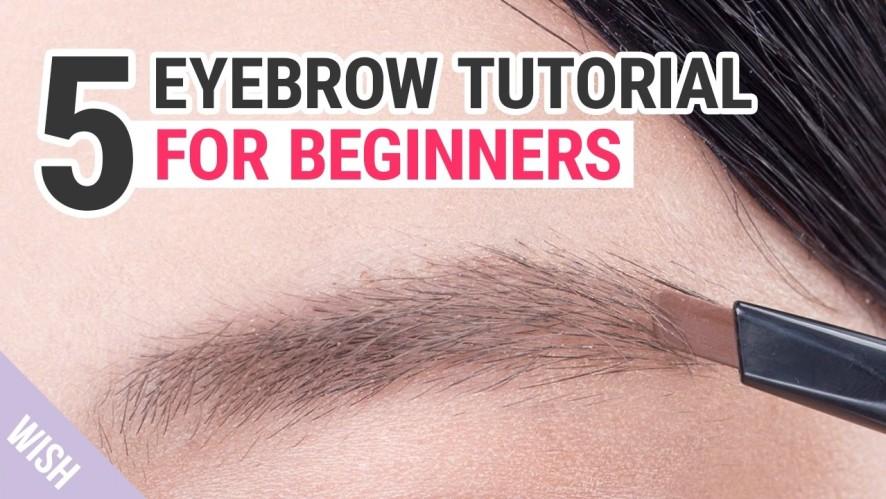 Eyebrow Shaping Tutorial for Beginners | WishtrendTV