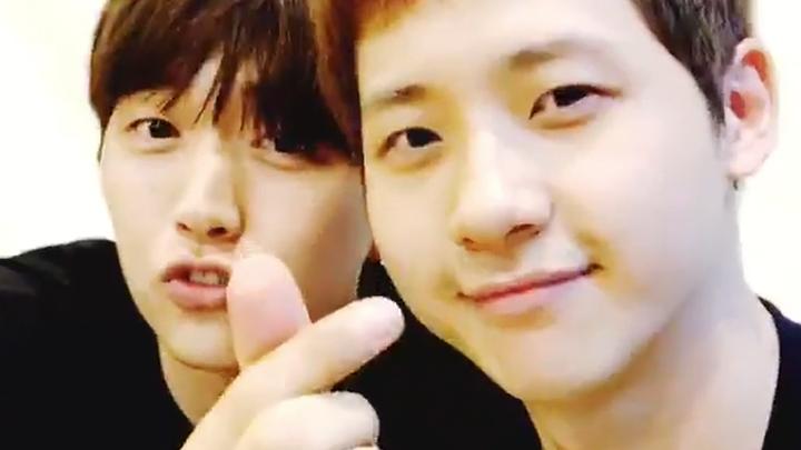 [B1A4] 이산들 신도누 넘 귀여워서 내 심장에 한계가 왔어💦 (So cute Sandeul&CNU)
