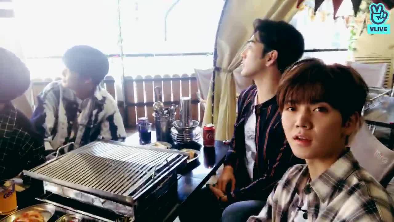 [취중돌] 뉴이스트W랑 랜선 바베큐파티 🐢🐶🐯🐰