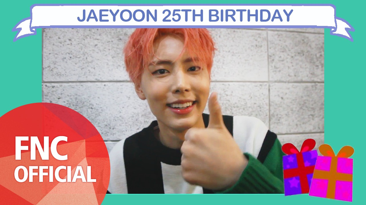 [HBD] JAEYOON 25TH BIRTHDAY