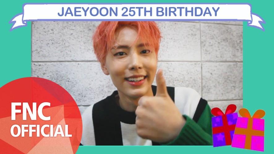 [HBD] JAEYOON 25TH BIRTHDAY