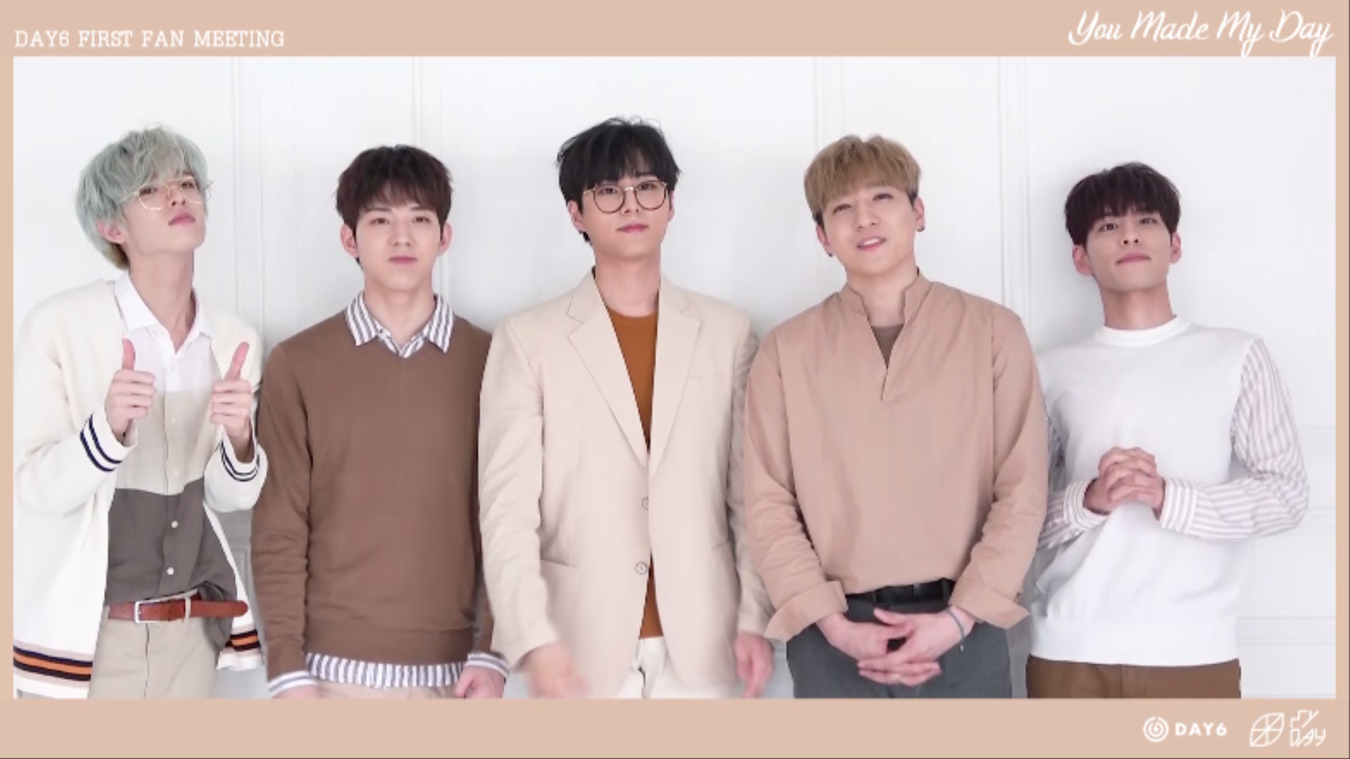 "DAY6 FIRST FAN MEETING ""You Made My Day"" Invitation Video"