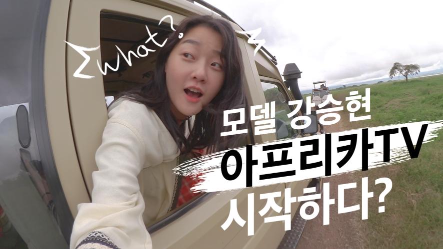 모델 강승현 아프리카 TV 시작하다? [트러블러 X 효니 아프리카 TV] Teaser