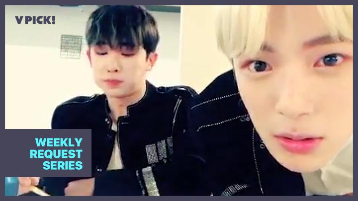 [MONSTA X] 1년 전 원호의 밥도둑을 찾아서 ⏪Rewind⏪ (Wonho&Minhyuk eating food)