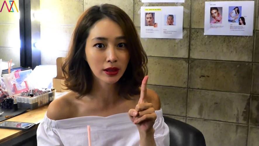 [이민정]핫섬머_쿨스마일_촬영현장