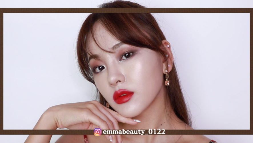 [EMMABEAUTY] 1min speed makeup FALL LOOK  FALL MAKEUP 🍁