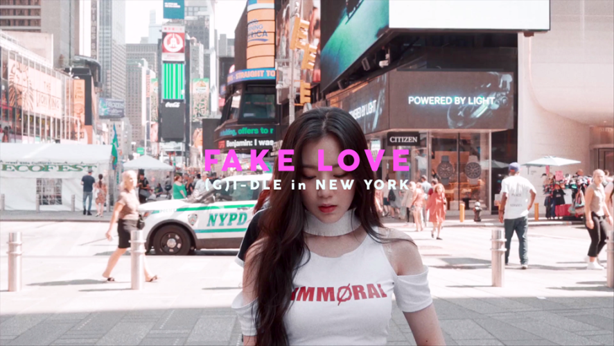 (여자)아이들 - 'FAKE LOVE / BTS (Dance Cover in New York)'