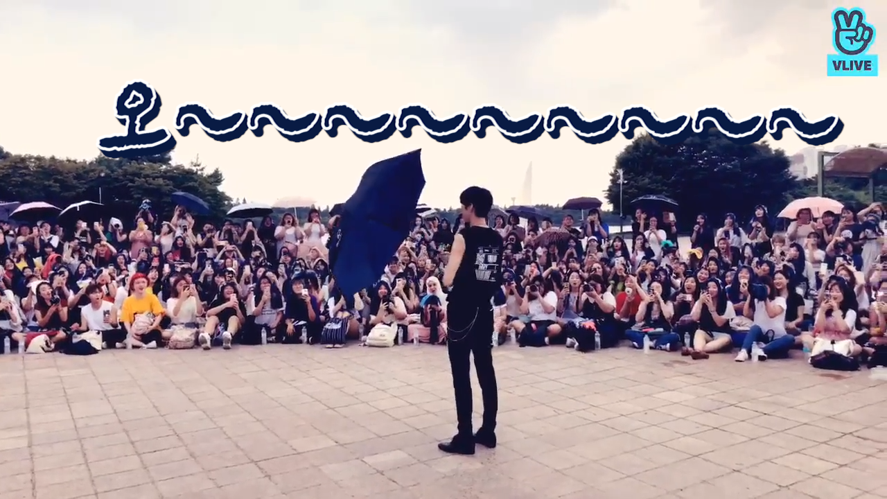 [VIXX] 비오는 날의 흑발택운을 기억하나요☂️? (LEO's mini fanmeeting in a rainy day)