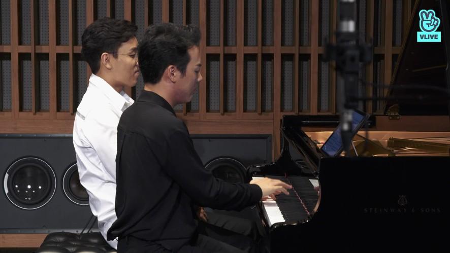 [연주클립] V살롱 - 김정원&신창용 - 브람스 헝가리무곡 6번 D장조