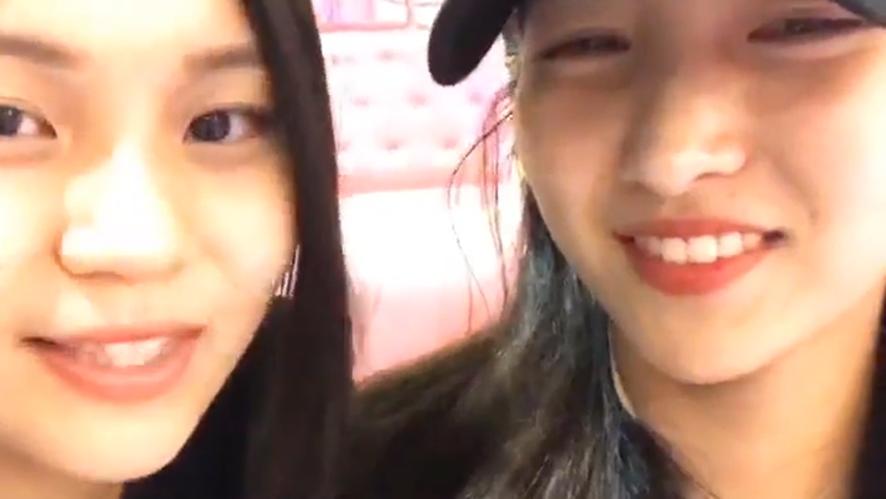 [GFRIEND] 볼링친구보는 나는 영광적인 사람^-^✨(Sowon&Umji's bowling practice!)