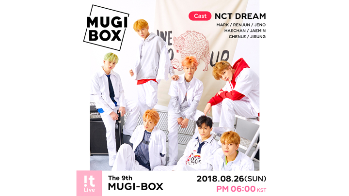 "[FULL] !t Live(잇라이브) : The 9th MUGI-BOX(뮤기박스) ""NCT DREAM"""