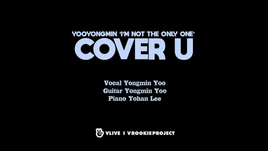 [COVER U_AUDIO ONLY] I'm Not The Only One - Sam Smith (Cover by Yongmin Yoo)