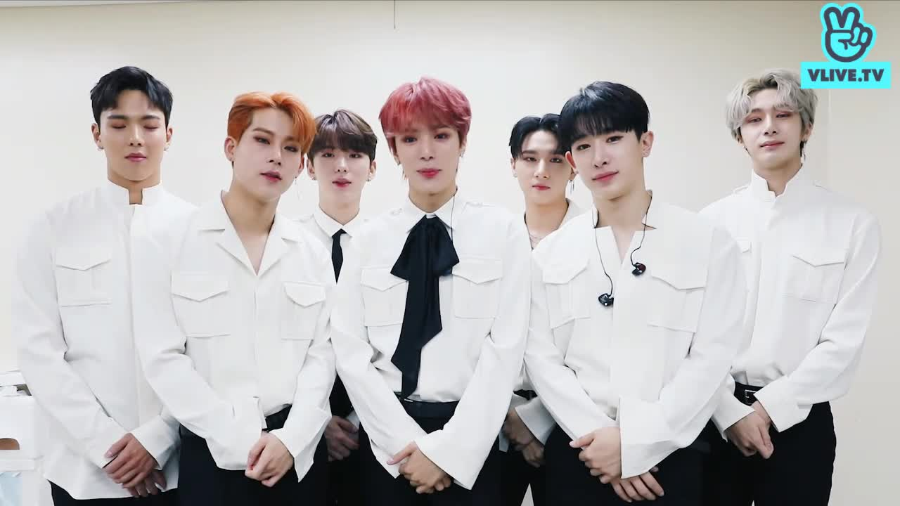 MONSTA X Greeting for V HEARTBEAT