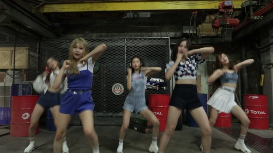 [올더케이댄스 B-CUT] 네온펀치의 블랙핑크 뚜두뚜두 커버 원테이크 버전